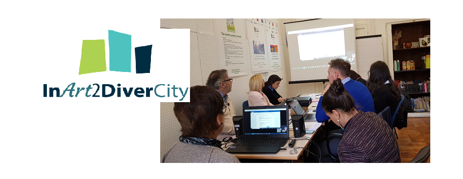InArt2DiverCity Project - development of Pedagogical Methodology & Training practices to train the teachers